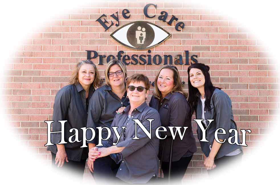 Happy New Year 2018 from Eye Care Professionals