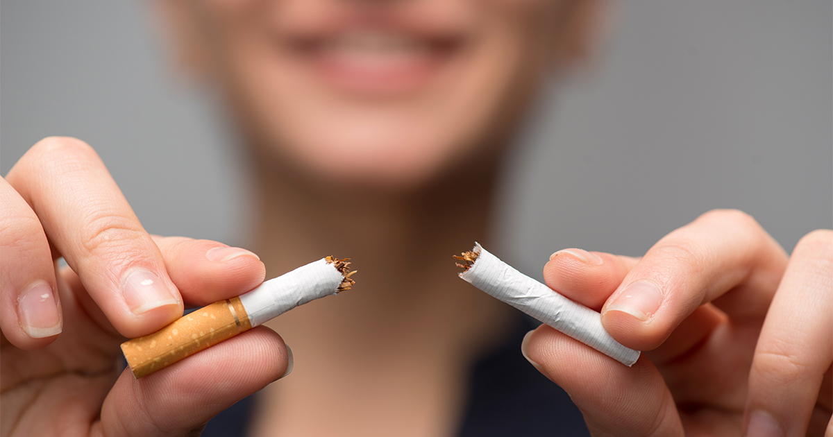 Quitting smoking is one step to help avoid age-related macular degeneration.